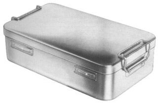 Storing Cases Perforated Bottom with Textile Filter