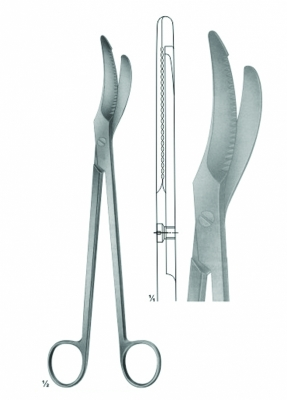 Scissors of Obstetrics, Umbilical cord clamp