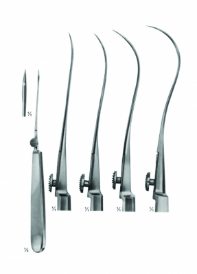 suture Instruments - Reverdin Needles