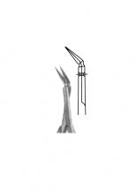 "Micro Scissors, ""Spring Type"" Flat Handles"